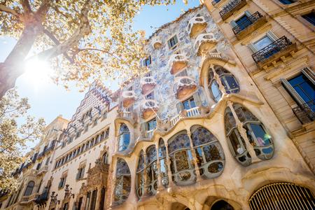 カサ・バトリョバルセロナの建物