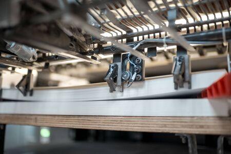 製造時の印刷時のオフセット印刷機の断片