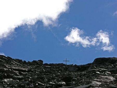 cross on a mountain Stock Photo - 7667390