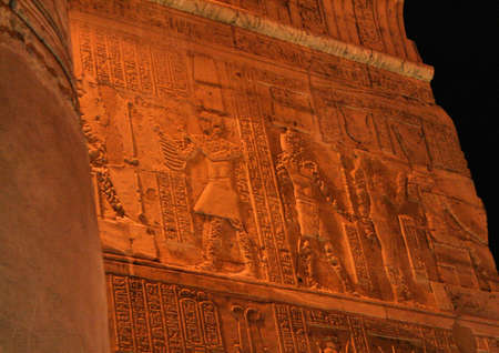 pharoah: Temple at Kom Ombo Egypt