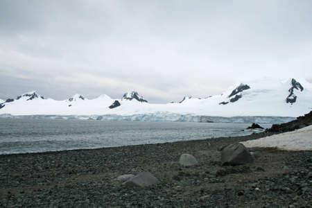 Half Moon Bay Antarctica Stock Photo - 9012930