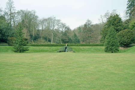 mote: Ightham Mote garden in Kent