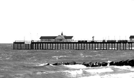 suffolk: Southwold Pier, Suffolk England Stock Photo