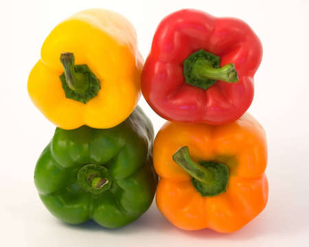 Peppers - Red,yellow,green and orange