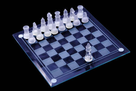 Chess set up, one against many