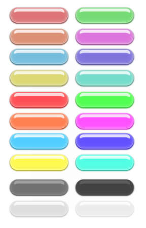 Color gel buttons