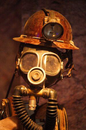 mineros: EQUIPO MINERO Foto de archivo