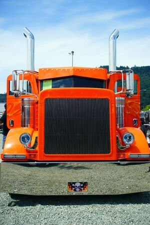 ORANGE SEMI-FRONT VIEW