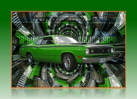 custom car: HYPNOTIC DUSTER