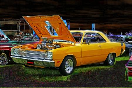 custom car: FULL BLOWN HEMI