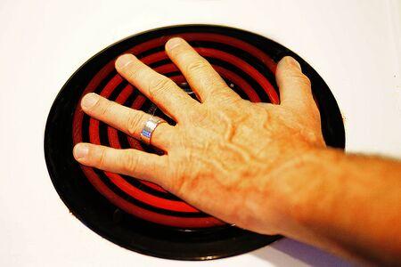 HOT HAND Stock fotó