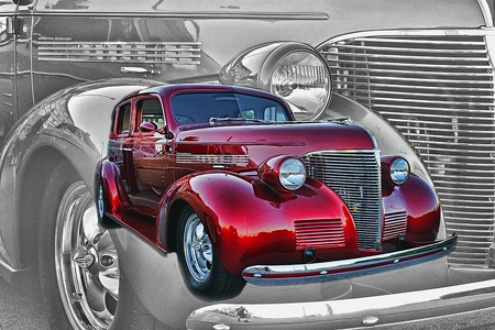 candy apple: CANDY APPLE RED STREET ROD
