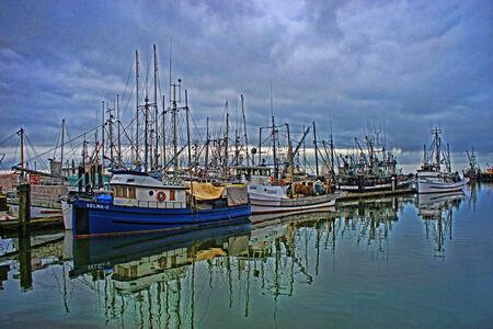 fishing fleet: Steveston Fishing Fleet
