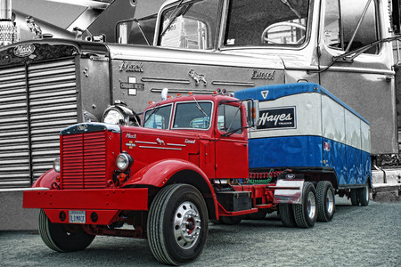 mack: Old Mack Truck Editorial