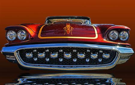 thunderbird: 1958 Ford Thunderbird Grill Editorial