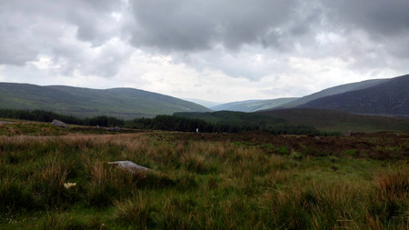 irish countryside: The Wicklow Mountains in Ireland
