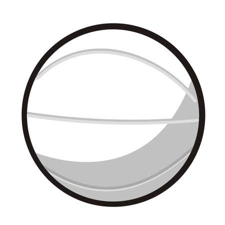 ejemplo de una pelota de baloncesto Foto de archivo - 3546241