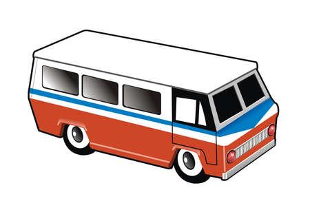 Illustrtartion of a bus Stock Photo - 3561174