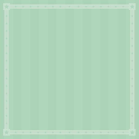 Green striped border background pattern