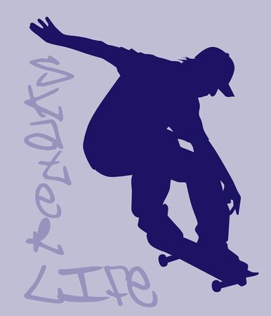 Skater Life - Clipping Paths Included
