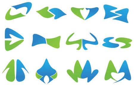 logos graphic elements website Çizim