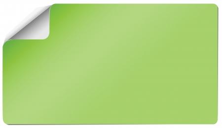 sticker groen Stock Illustratie