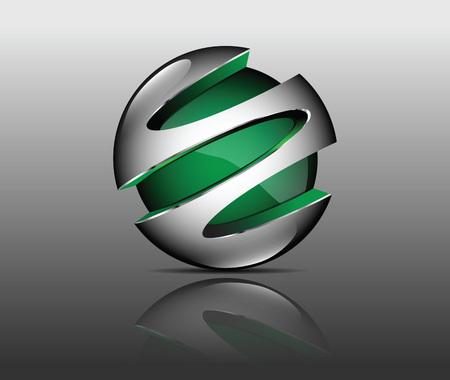 graphic element green Çizim
