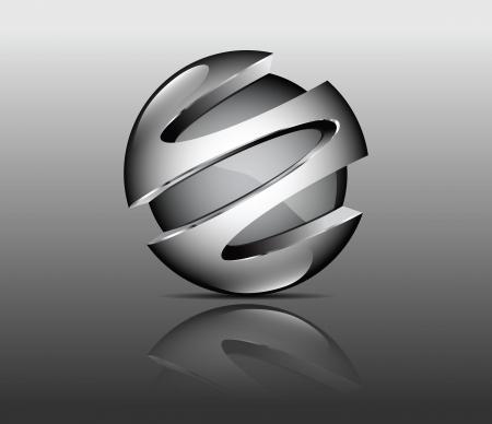 grafisch element zilver
