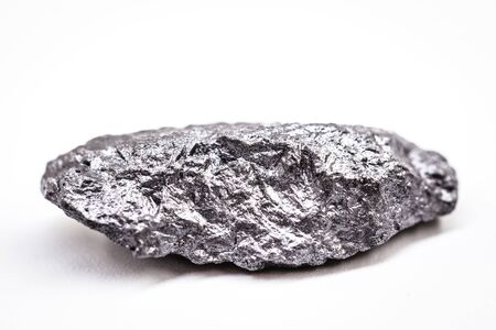 large gross precious stone, rare silver nugget. Reklamní fotografie