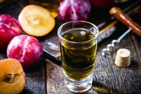 alcoholic drink made from plum. Umeshu, made in japan