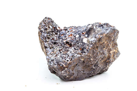 Pyrolusite ore is a mineral basically composed of manganese dioxide.