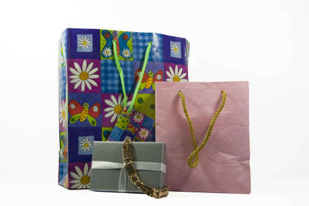 Gift Bags with Beautiful Gold Bracelet