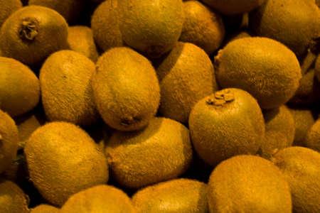 Fresh kiwi fruit at fresh food market
