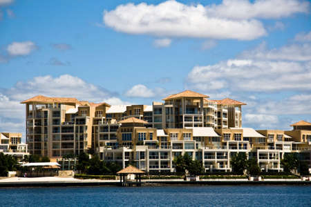 Luxury waterfront apartments