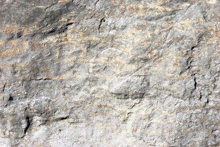Brown and Gray Rock Texture shot close-up at shallow dof.