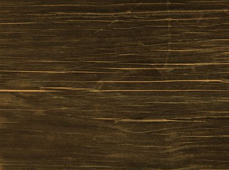 Close-up of an stained Redwood plank. Stock Photo