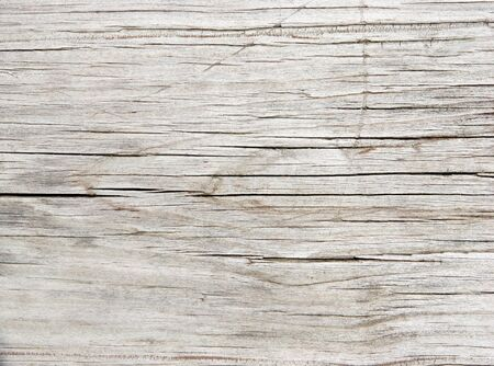 Close-up of an old faded Redwood plank.