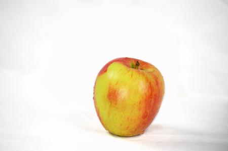 有機ブレイバーン アップル白背景 写真素材