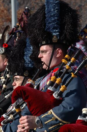 Remembrance Day 2009 - Ottawa, Ontario, Canada - November 11, 2009 - Pipers