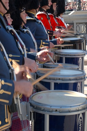 Remembrance Day 2009 - Ottawa, Ontario, Canada - November 11, 2009 - Drum Corps Stock Photo - 10781382