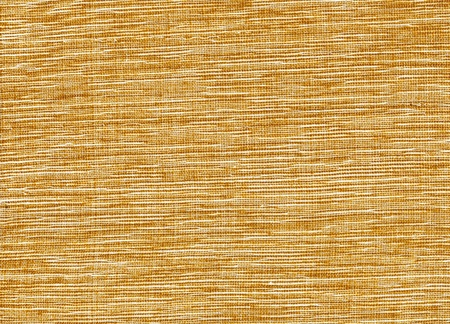 Gold and white weave. Woven fabric in gold and white colors.