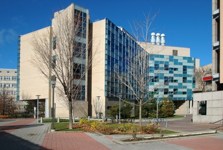 The Center for Advanced Research in Environmental Genomics, CAREG, at the University of Ottawa. Stock Photo - 10970419