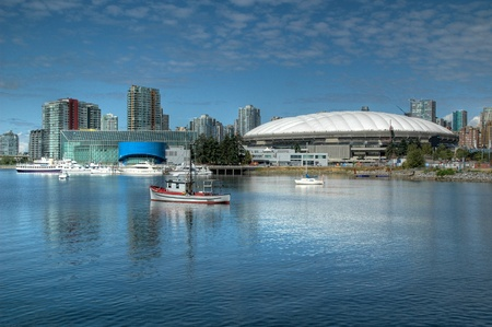 BC Place Stadium, Vancouver, British Columbia Redactioneel