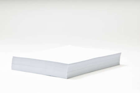 unprinted: Blank Paper Stack