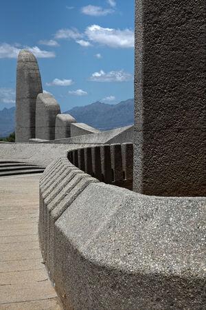 Afrikaans Taal Monument in Paarl Südafrika Standard-Bild - 23172092