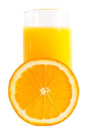 Jus d'orange Banque d'images - 9035422