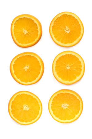 Sliced orange rings