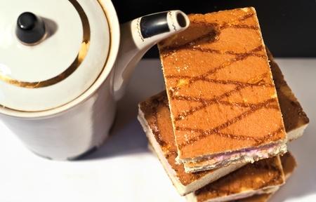 Biscuit cakes Stock Photo