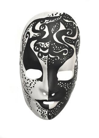 black and white mask Stock Photo