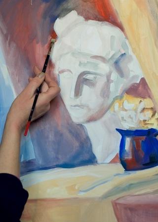 Peintures Banque d'images - 9179278